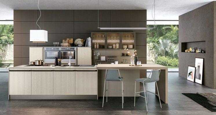 moderná kuchyňa ROUND od cucine LUBE