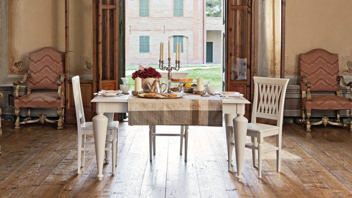 PANTHEON - jedálenský stôl so stoličkami
