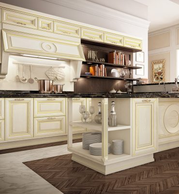 PANTHEON - luxusný model kuchyne od cucine Lube