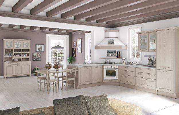 AUREA - klasická vidiecka kuchyňa vo farbe Juta