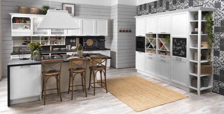 CONTEMPO - klasická vidiecka kuchyňa v bielej farbe