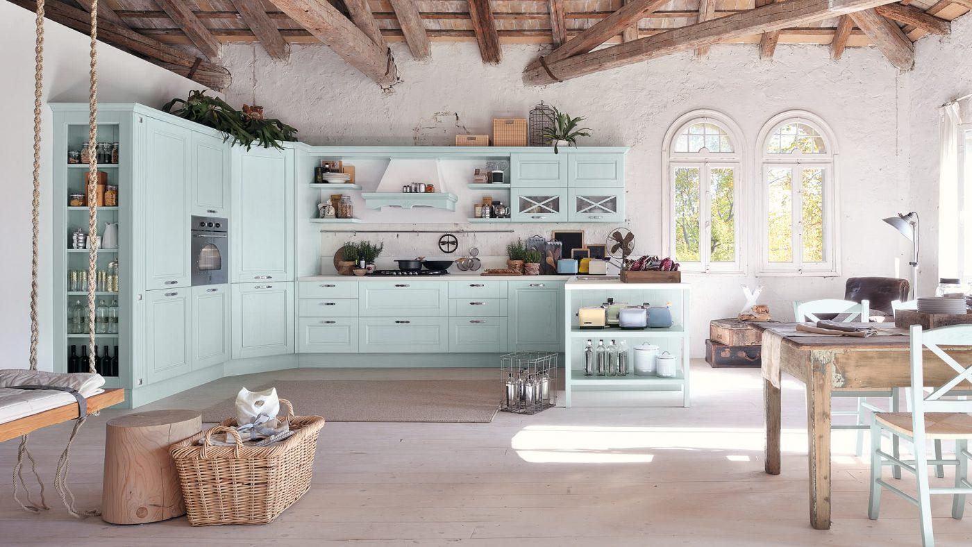 vitajte na dovolenke pri mori...aj takto sa môžete cítiť, ak si vyberiete túto farbu pre svoju novú kuchyňu
