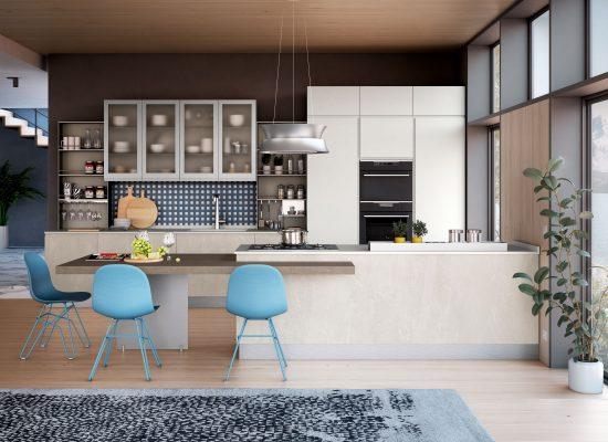 moderná kuchyňa JEY Feel od CREO kitchens