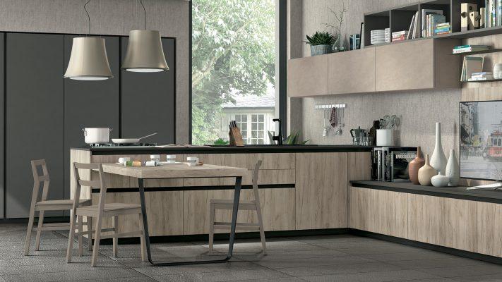 moderná kuchyňa IMMAGINA lUX od LUBE v prevedení bez úchytiek