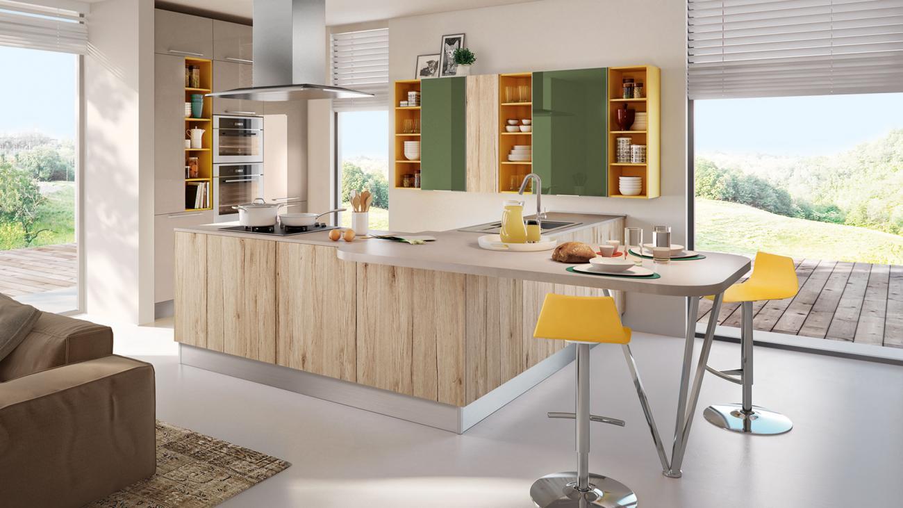moderná kuchyňa SWING - od cucine LUBE
