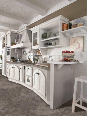 romantická kuchyňa LUISA s nádychom talianskeho vidieka