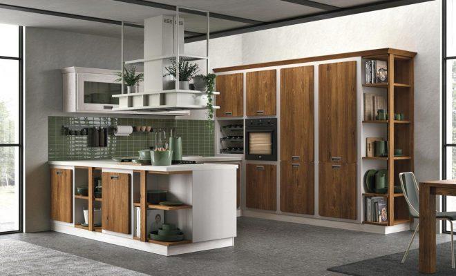 REBECCA - kuchyňa s klasickou dušou v murovanom prevedení a s moderným vzhľadom.