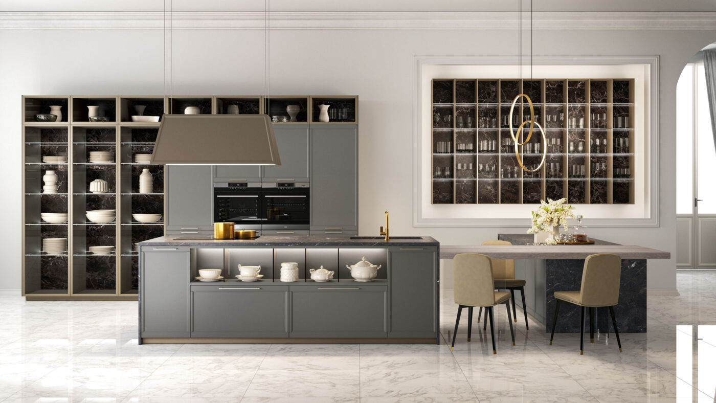 klasická talianska kuchyňa FLAVOUR, glamour štýl